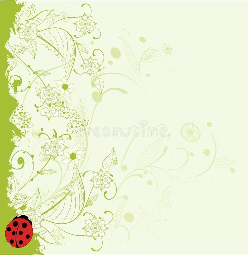 projekt wiosna royalty ilustracja