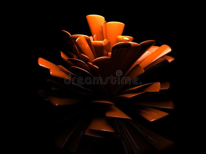 projekta abstrakcjonistyczny kwiat zdjęcia stock