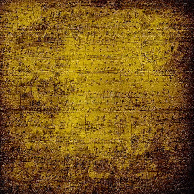 projekta alienujący papier muzykalny stary obrazy royalty free