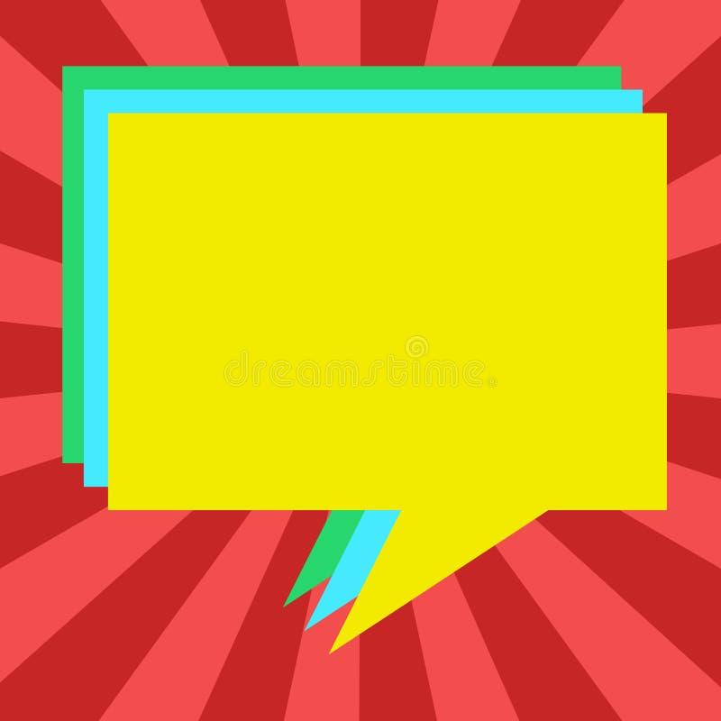 Projekta biznesowego pojęcia Pusty odbitkowy tekst dla sieć sztandarów promocyjnego materiału egzaminu próbnego w górę szablon st ilustracja wektor