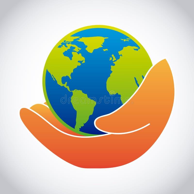 projekta ekologii dobry wzoru wektor ilustracja wektor