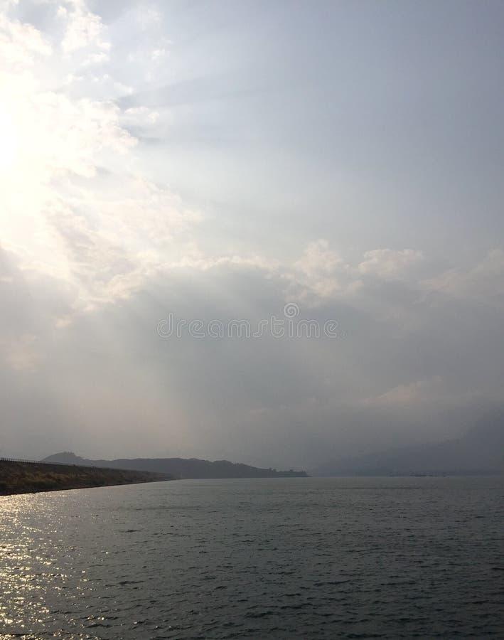 projekta elementu morza słońce fotografia royalty free