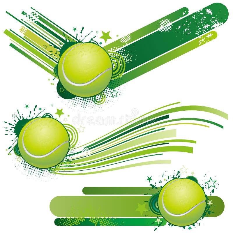 projekta elementu tenis royalty ilustracja