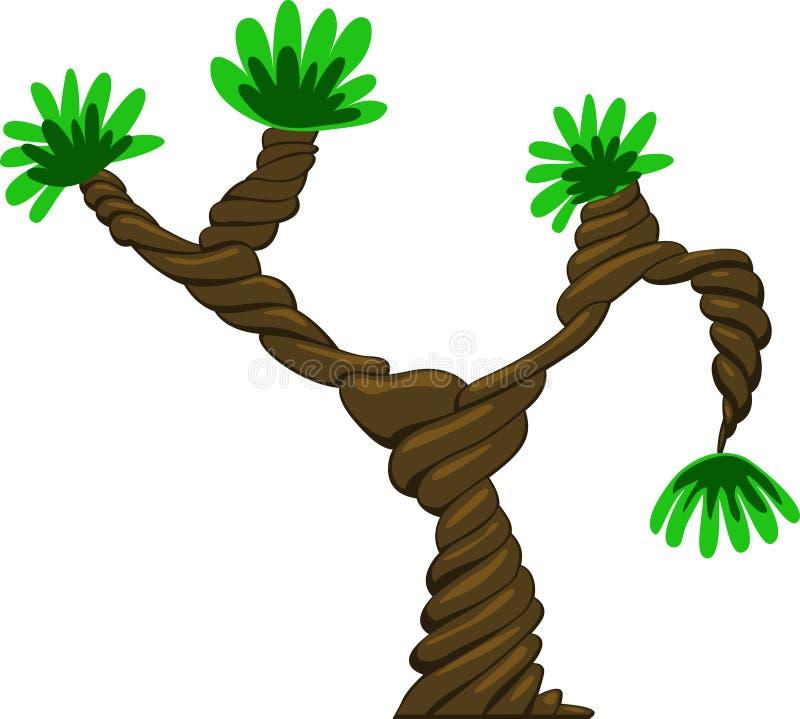 projekta fantastyczny drzewa wektor ilustracji