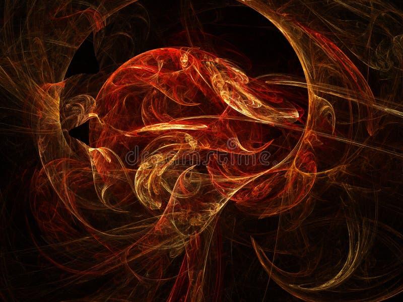 projekta fractal ilustracja wektor