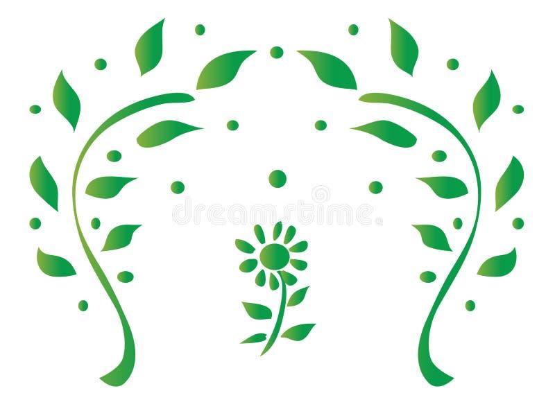 projekta ilustraci liść wektor zdjęcia stock