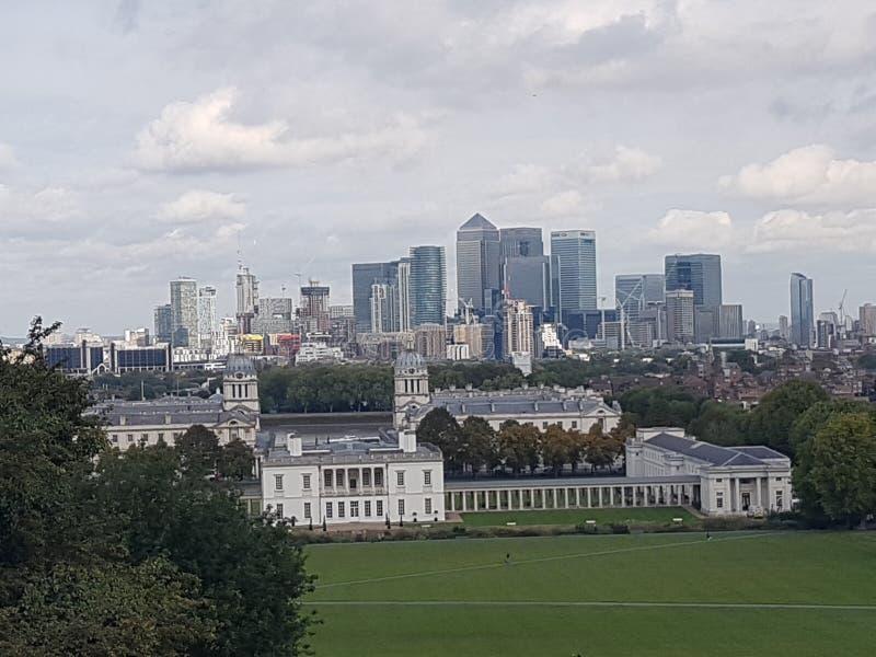projekta ilustracyjna London linia horyzontu ty fotografia stock