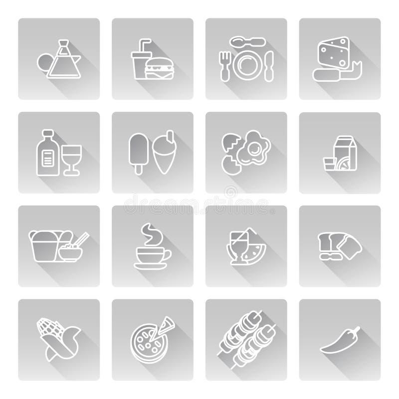 projekta karmowy ikon ilustraci wektor ty ilustracja wektor