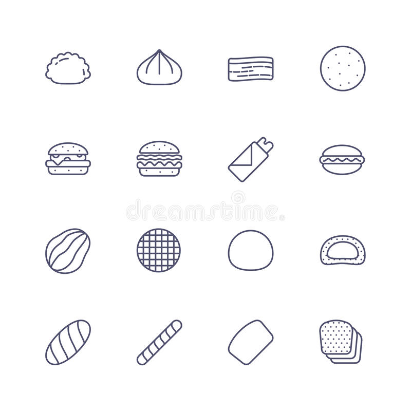 projekta karmowy ikon ilustraci wektor ty ilustracji