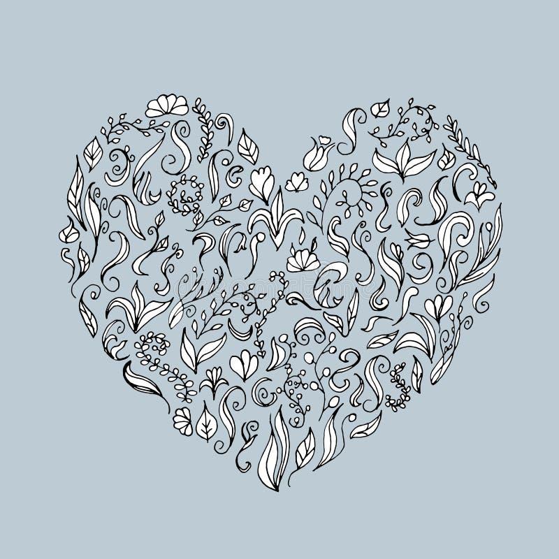 projekta kwiecisty kierowy ornamentu kształt twój ilustracja wektor