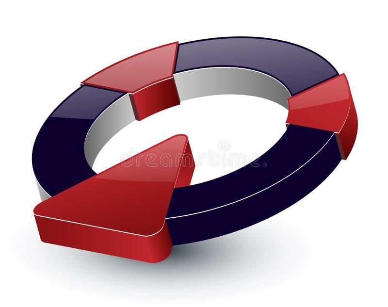 projekta logo royalty ilustracja