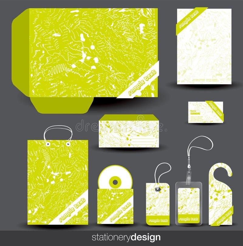 projekta materiały szablon royalty ilustracja
