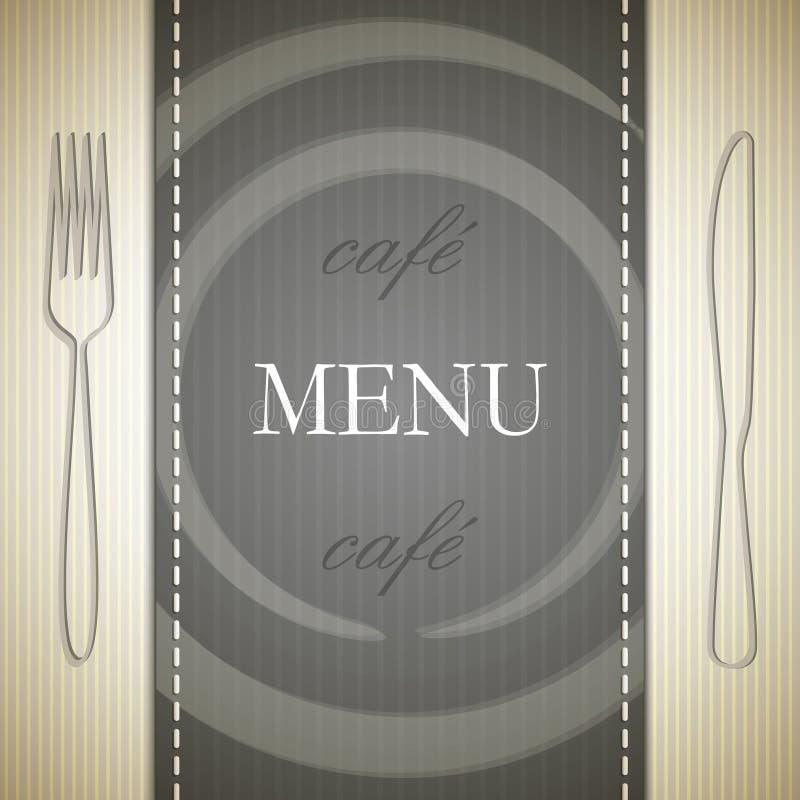 projekta menu ilustracja wektor