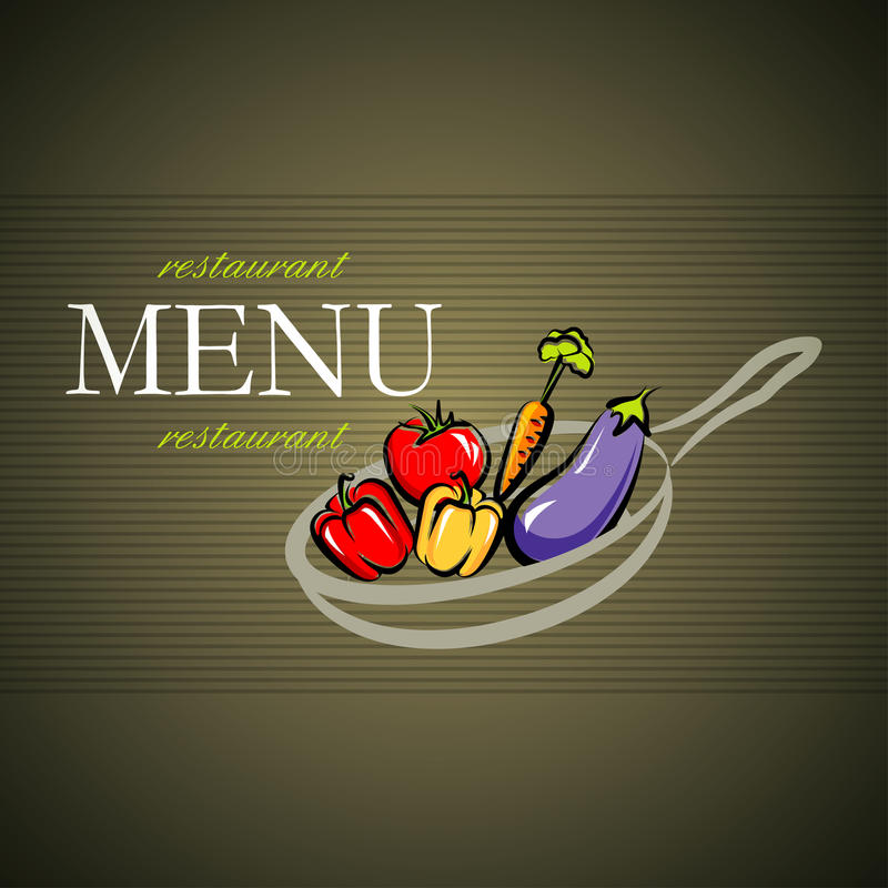 projekta menu royalty ilustracja