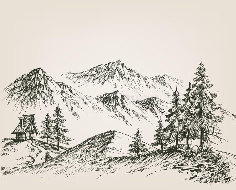 projekta rysunkowa elementu natura ilustracji