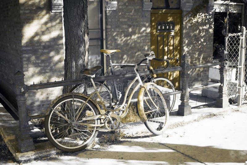 projekta skutka stary obrazek miastowy zdjęcie stock