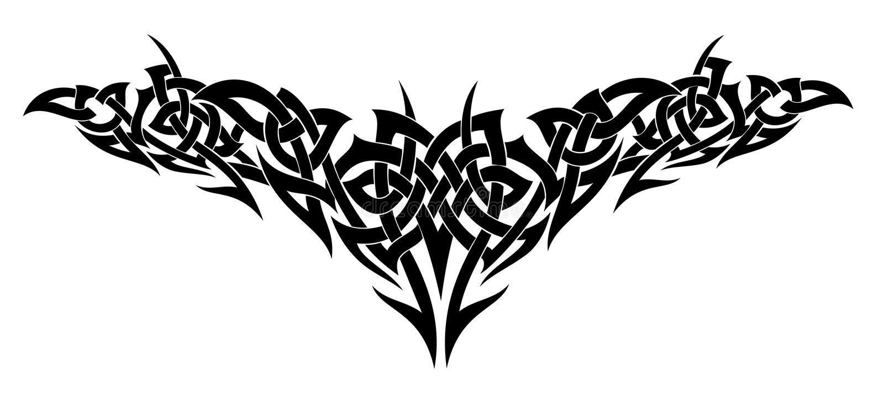 projekta tatuażu wektor ilustracja wektor