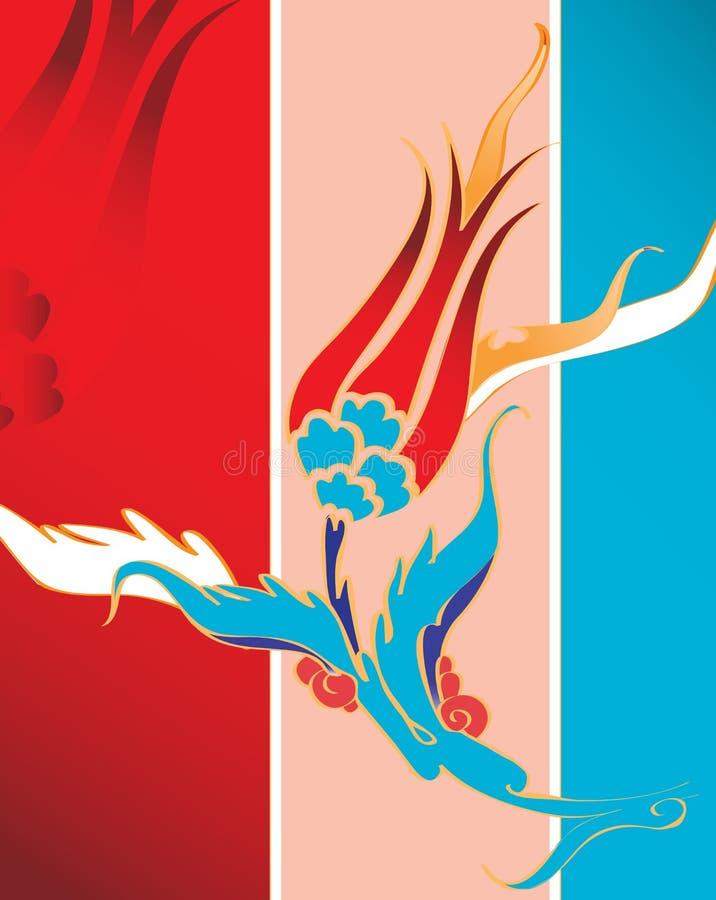 projekta turkish elegancki tradycyjny tulipanowy ilustracja wektor