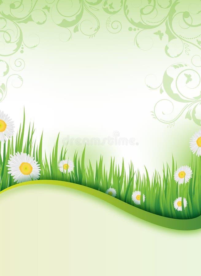 projekta ulotki wiosna ilustracja wektor