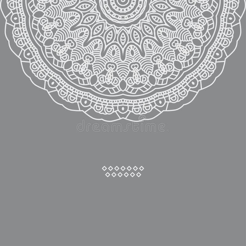 Projekta wektorowy dekoracyjny element ilustracja wektor