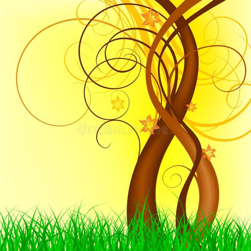 projekta wiosna wektor ilustracji