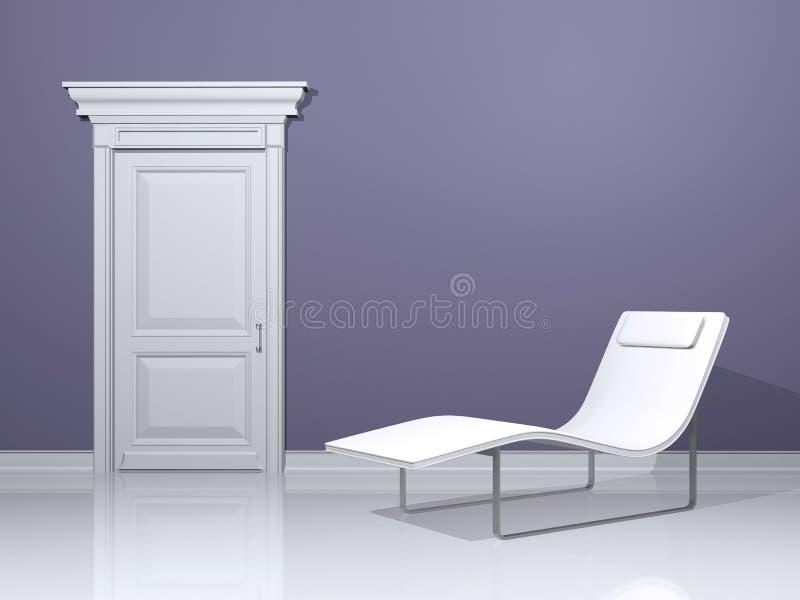 projekta wnętrze relaksuje royalty ilustracja