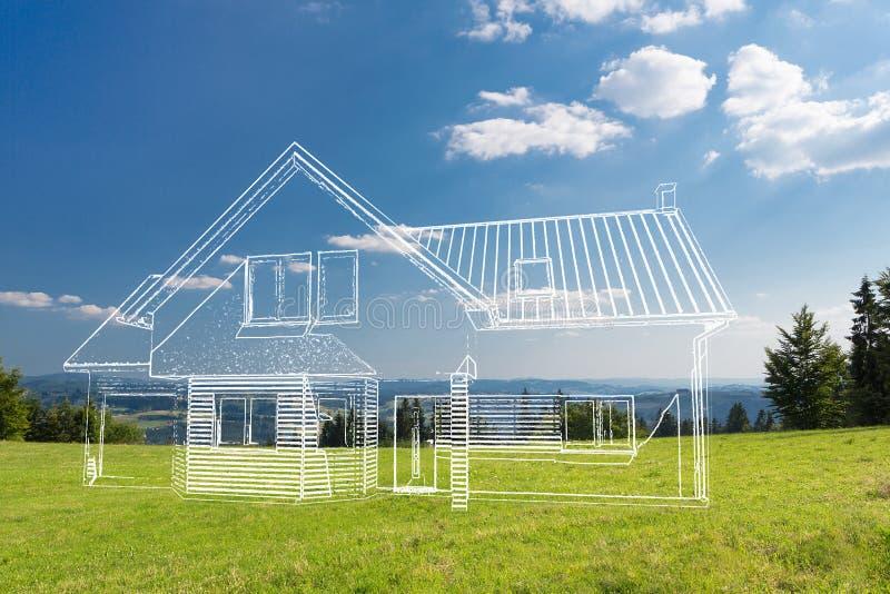 Projektantów domowi pojęcia obrazy royalty free
