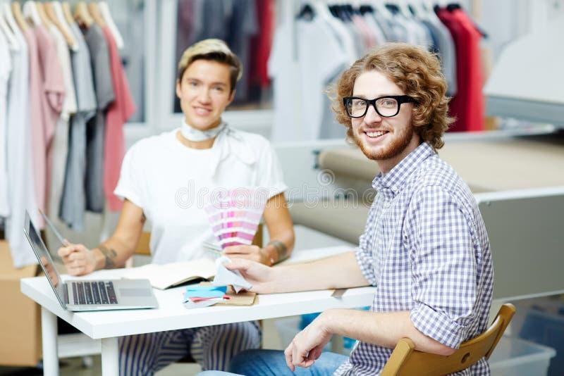 Projektant mody drużyna fotografia stock