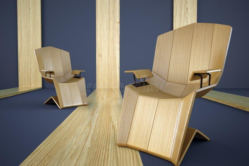 Projektanta krzesło fotografia stock