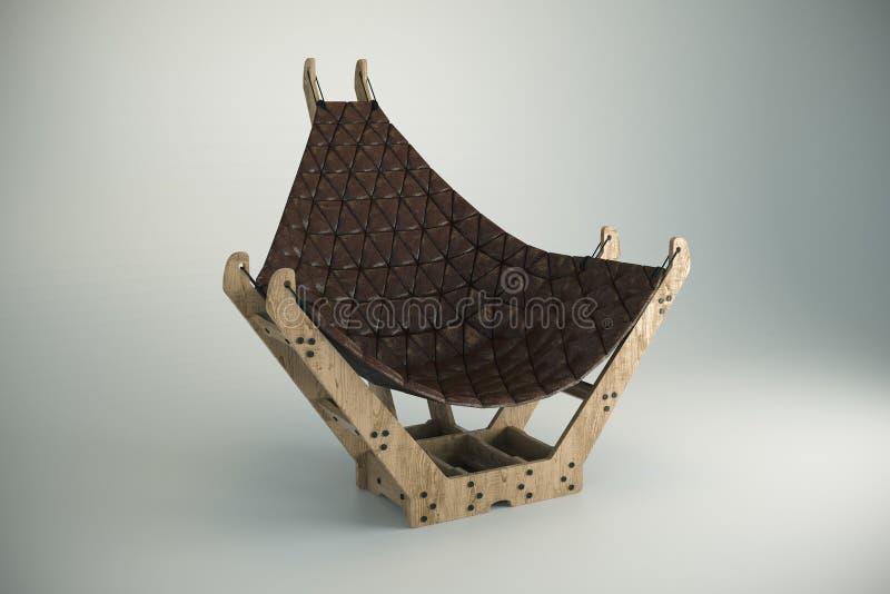 Projektanta krzesło fotografia royalty free