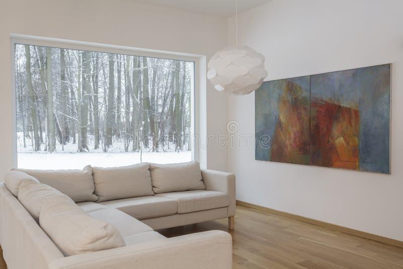 Projektanta wnętrze - Żyje pokój zdjęcia royalty free