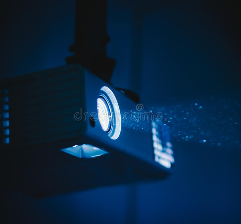 projektor royaltyfri fotografi