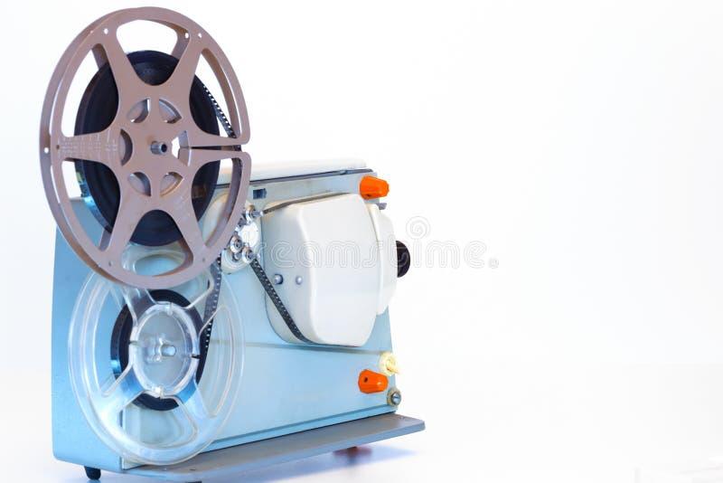 Projektor för hem- film arkivbild