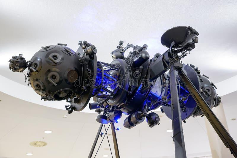 Projektor för planetarium för Zeiss fläckdropp arkivfoton