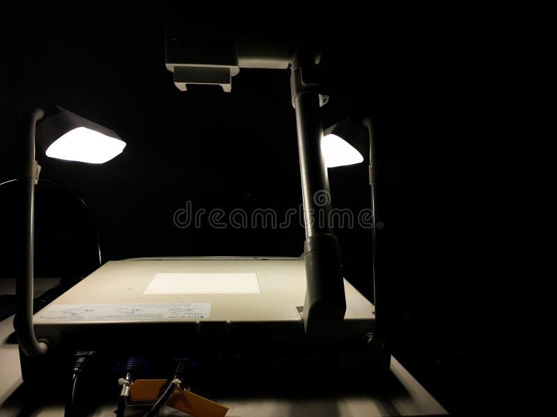 projektor för visualizer 3D royaltyfria foton
