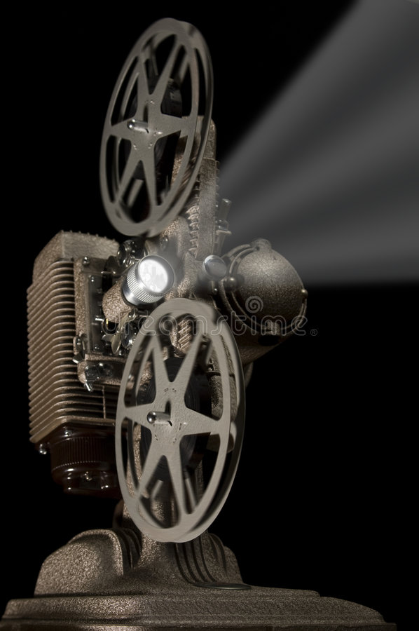projektor retro ilustracja wektor
