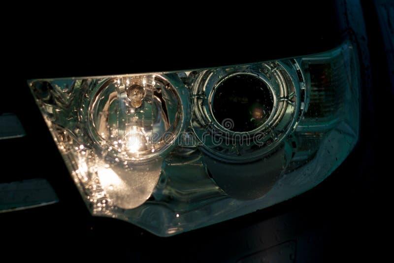 Projektor som LEDAS av bilen arkivbilder