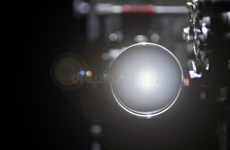 Projektorlins för Img 6079 arkivbild