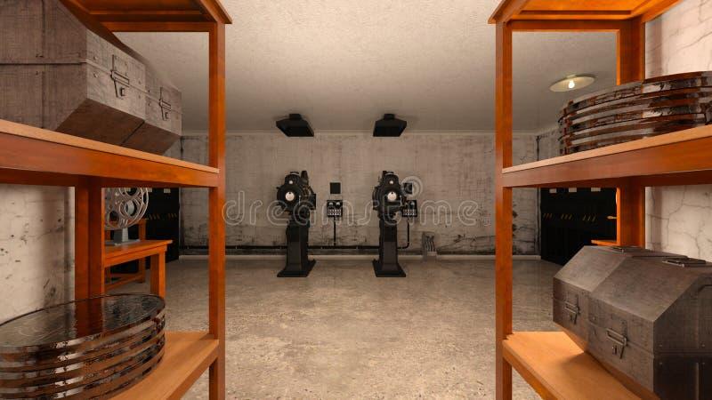 projektory fotografia stock