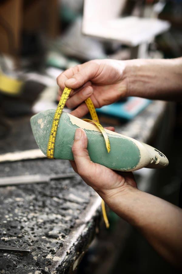 Projektować buty, ręcznie robiony buty dla szewc zdjęcia stock