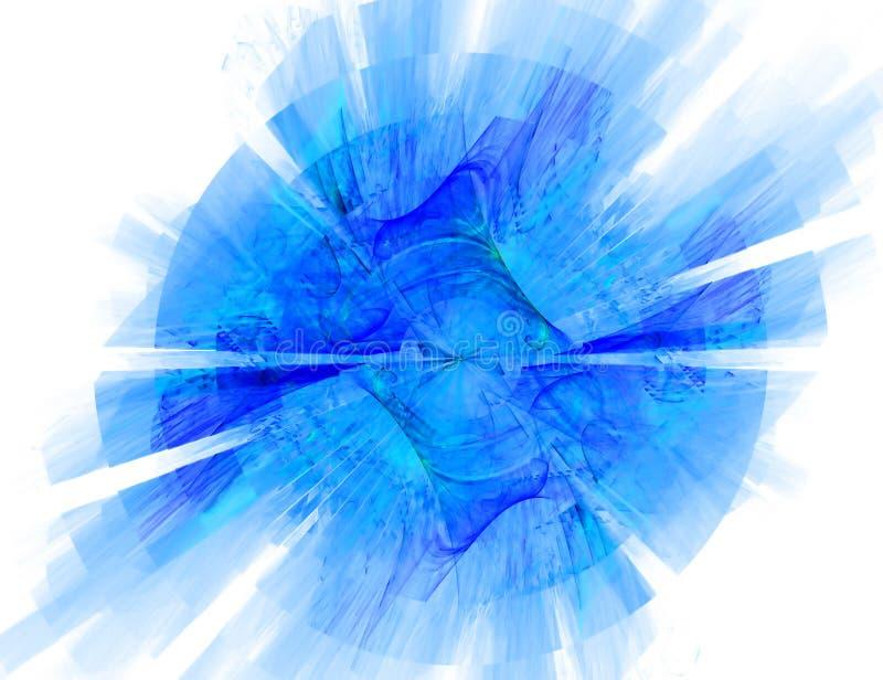 projektu przez fractal tło royalty ilustracja