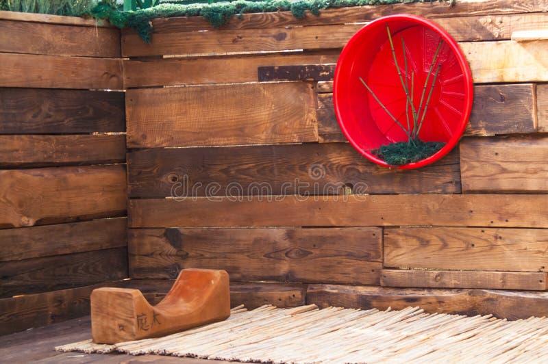 Projektuje rozwiązanie wewnętrzna dekoracja, luksus stwarza ognisko domowe obrazy stock