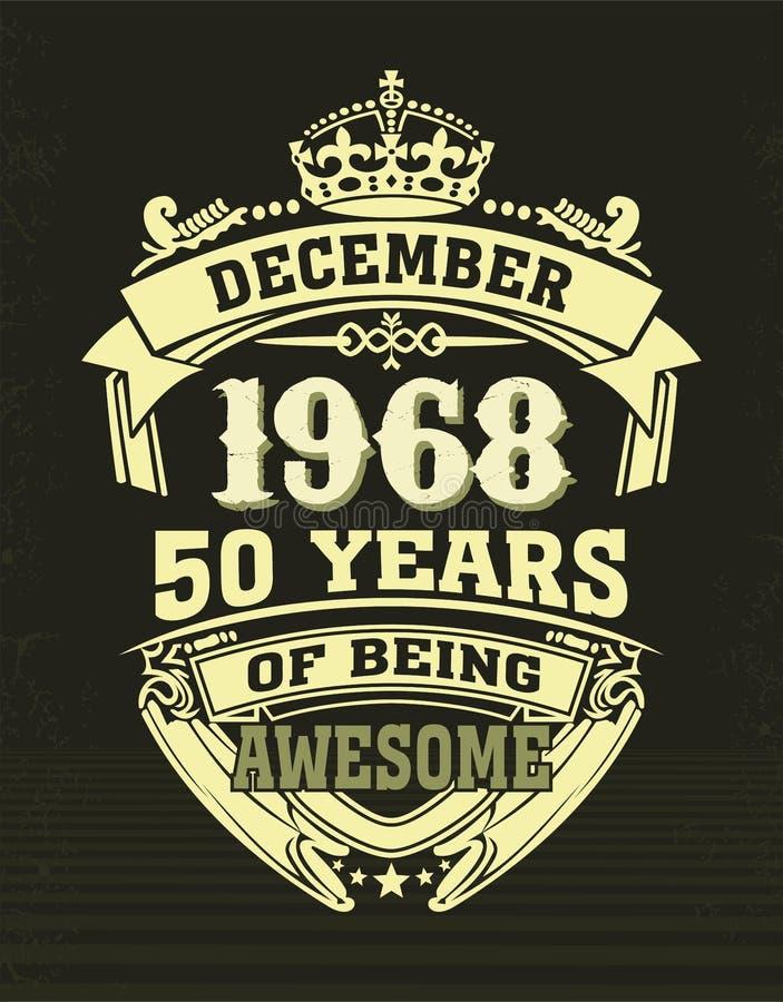 Projektuje t koszula pięćdziesiąt rok być wspaniały ilustracji