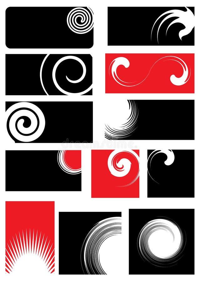 projekty określone elementy royalty ilustracja