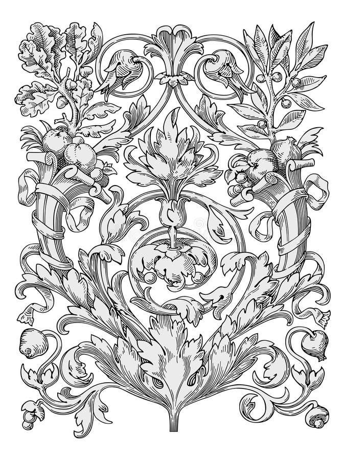 projekty royal elementów wektora royalty ilustracja