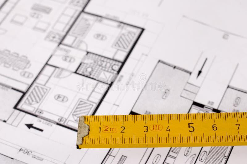 Projet d'architecture images libres de droits