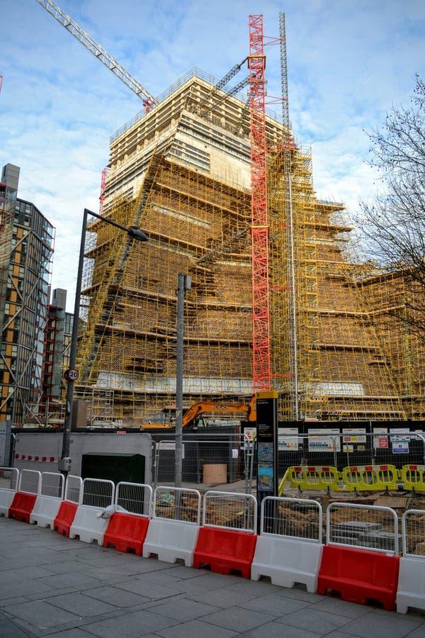Projet de développement de bâtiment de Tate Modern photo libre de droits