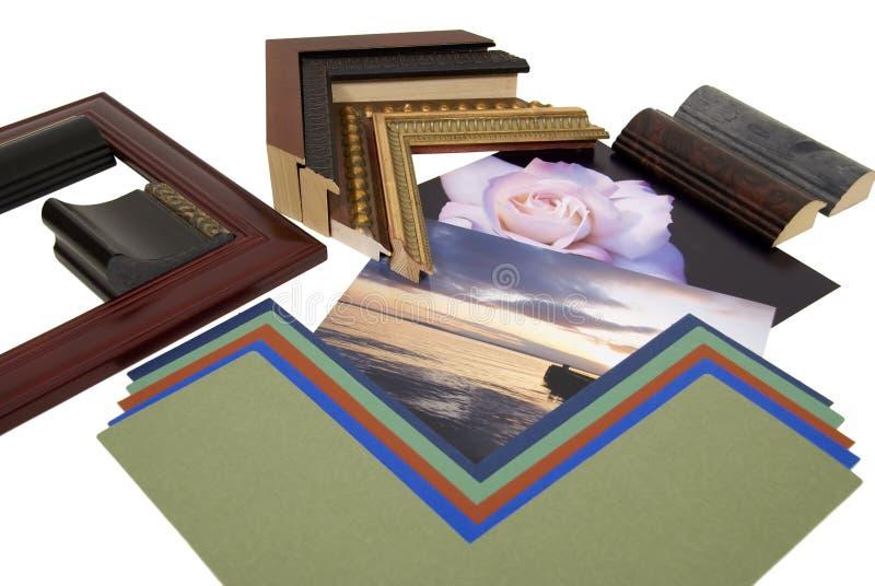 Projetando o projeto do frame imagens de stock