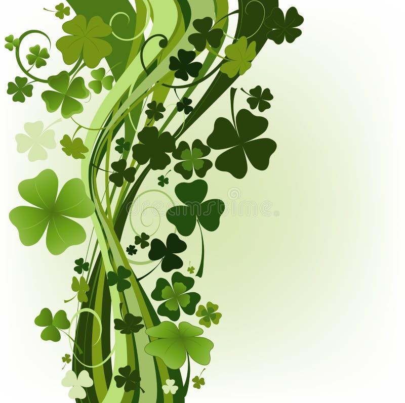 Projete para o dia do St. Patrick ilustração stock