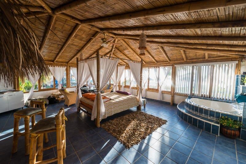 Projete a sala no Peru peruano de Piura da costa fotografia de stock royalty free